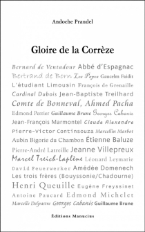 Gloire de la Corrèze - AndochePraudel