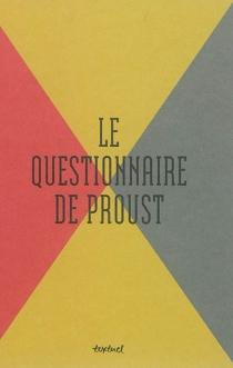 Le questionnaire de Proust -