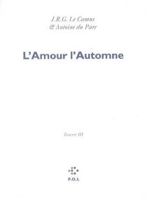 Les églogues| Travers - RenaudCamus