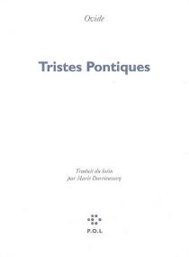 Tristes Pontiques - Ovide