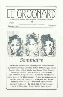 Grognard (Le), n° 20 -