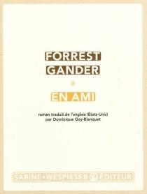 En ami - ForrestGander
