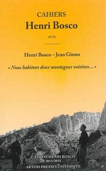Cahiers Henri Bosco, n° 49-50 - HenriBosco