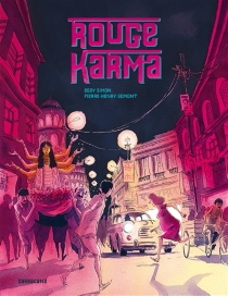 Rouge karma - Pierre-Henry Gomont