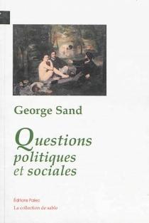 Questions politiques et sociales - GeorgeSand