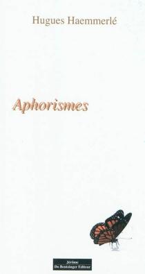 Aphorismes - HuguesHaemmerlé