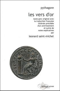 Les vers d'or : texte grec original - Pythagore