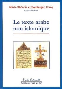 Le texte arabe non islamique -