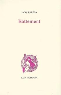 Battement - JacquesRéda