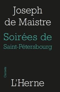 Les soirées de Saint-Pétersbourg ou Entretiens sur le gouvernement temporel de la providence : onzième entretien - Joseph deMaistre