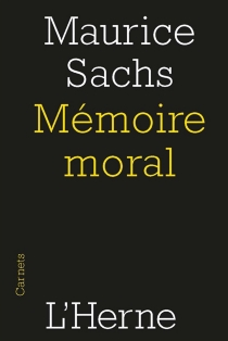 Mémoire moral - MauriceSachs