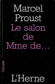 Le salon de Mme de... - MarcelProust