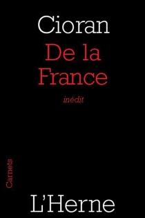 De la France - EmilCioran