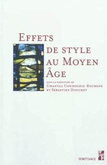Effets de style au Moyen Age -