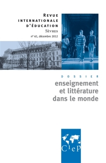 Revue internationale d'éducation, n° 61 -