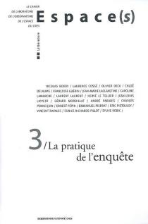 Espace(s), n° 3 -