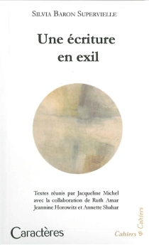 Silvia Baron Supervielle : une écriture en exil - SilviaBaron Supervielle