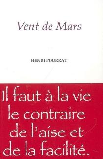 Vent de mars - HenriPourrat