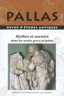 Pallas, n° 78 -