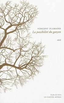 La possibilité du garçon : récit - VincentFlamand