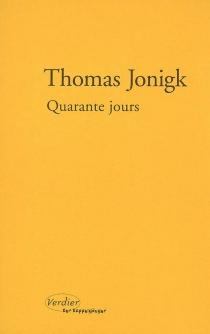 Quarante jours - ThomasJonigk