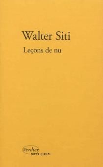 Leçons de nu - WalterSiti