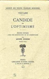 Candide ou L'optimiste - Voltaire