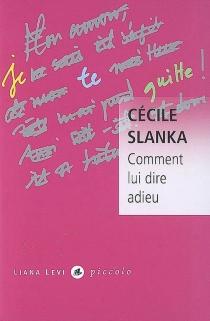 Comment lui dire adieu - CécileSlanka