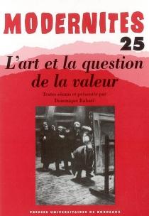 Modernités, n° 25 -