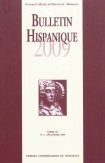 Bulletin hispanique, n° 111-2 -