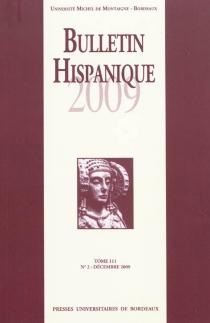 Bulletin hispanique, n° 111-2 -