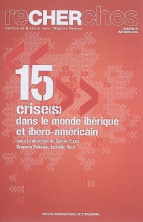 Recherches, culture et histoire dans l'espace roman, n° 15 - Société des hispanistes français. Congrès