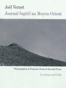 Journal fugitif au Moyen-Orient : vers Alep - JoëlVernet