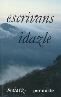 Escrivans idazle -