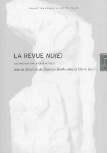 La revue Nu(e) : dix entretiens sur la poésie actuelle -