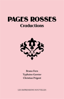 Pages rosses : craductions - Bruno Fern