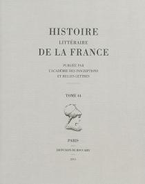 Histoire littéraire de la France - HanneLange