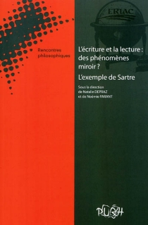 L'écriture et la lecture, des phénomènes miroir ? : l'exemple de Sartre -