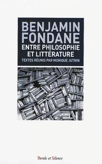 Entre littérature et philosophie - BenjaminFondane