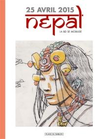 25 avril 2015, Népal : la BD se mobilise -