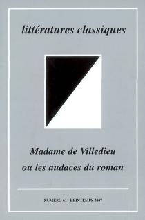 Littératures classiques, n° 61 -