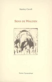 Sens de Walden - StanleyCavell