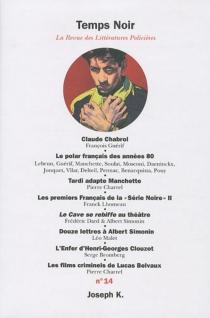 Temps noir, n° 14 -