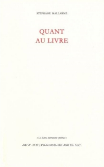 Le livre, instrument spirituel - StéphaneMallarmé