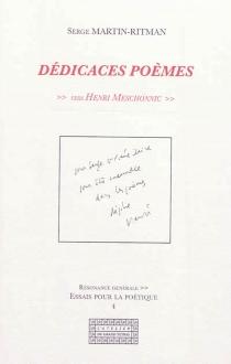 Dédicaces poèmes : vers Henri Meschonnic - SergeMartin