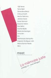La mémoire juste -