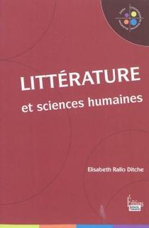 Littérature et sciences humaines - ÉlisabethRallo Ditche