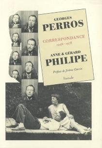 Correspondance : 1946-1978 - GeorgesPerros