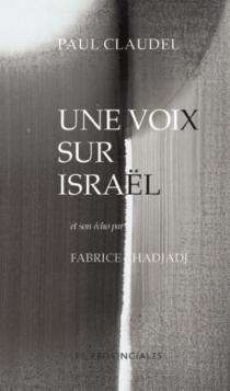 Une voix sur Israël - PaulClaudel