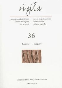 Sigila, n° 36 -